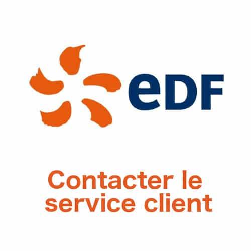 Contacter le service client EDF par téléphone ou courrier pour les particuliers