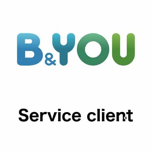 Contacter le service client B And You : numéro de téléphone et adresse