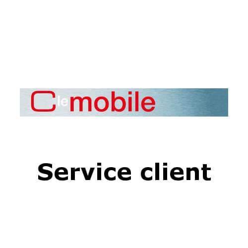 Contacter le service client C le mobile par téléphone, email ou courrier