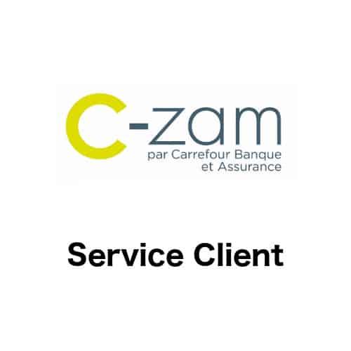 Contacter le service client C-zam, compte courant Carrefour